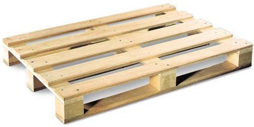 Standartinių matmenų mediniai padėklai