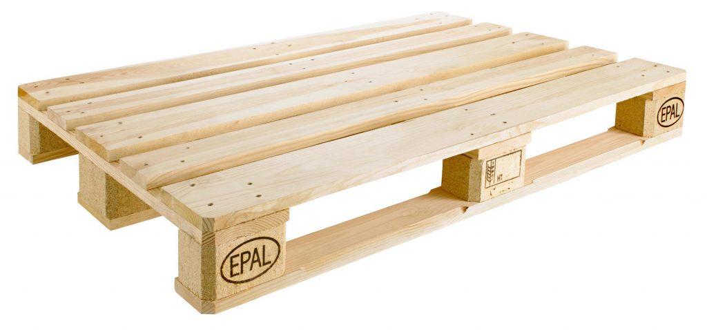 Mediniai padėklai pirma rūšis EPAL EUR
